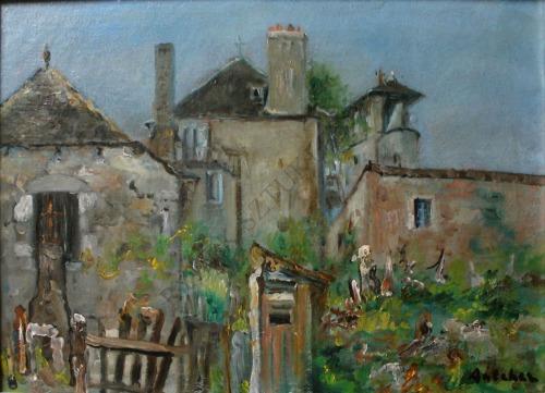 Isaac Antcher (1899-1992), Podwórze