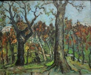 Isaac Antcher (1899-1992), Las