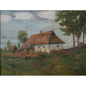 Jan Karmański (1887-1958), Chałupa (1927)