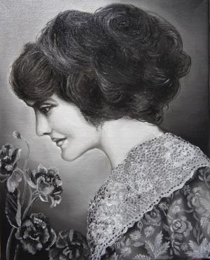Marta Julia Piórko, Kobieta z kwiatami