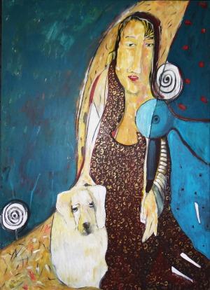 Tomasz Kuran, Madamme z labladorką (2014)