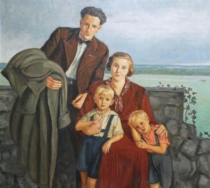 Wlastimil Hofman (1881-1970), Rodzina Potockich, 1934