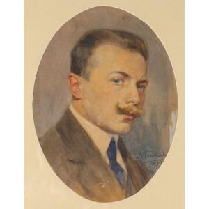 Bronisław WIŚNIEWSKI, AUTOPORTRET, 1919