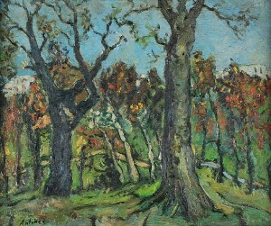 Isaac ANTCHER (1899-1992), Drzewa