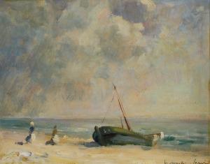 Mieczysław SERWIN-ORACKI (1912-1978), Na plaży