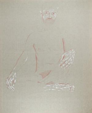 Ewa KURYLUK (ur. 1946), Akt męski