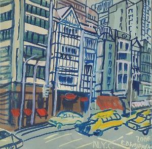 Edward DWURNIK (ur. 1943), N.Y.C., 2006