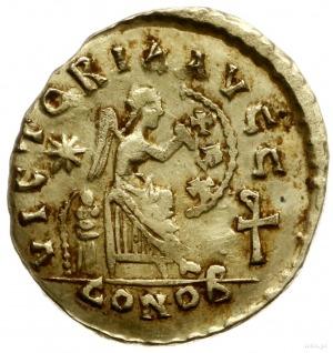semis 475-476, Konstantynopol; Aw: Popiersie cesarza w ...