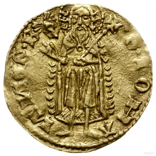 floren ok. 1345-1351, Świdnica; Aw: Lilia, BOLKO DVX SL...