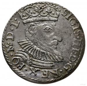 trojak 1592, Olkusz; odmiana z Toporem (zarządcy mennic...