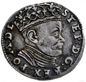 trojak 1584, Wilno; odmiana z interpunkcją w postaci dw...