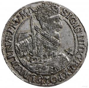 ort 1621, Bydgoszcz; odmiana z nominałem (16) pod popie...