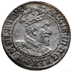 ort 1621, Gdańsk; na awersie krzyż w formie kropek; Sha...