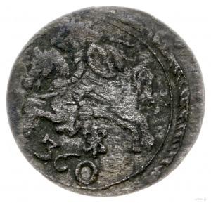 dwudenar 1652, Wilno; rzadka odmiana z liczbą 360 pod P...