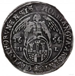 ort 1654, Toruń; Kop. 8317 (R2), Tyszkiewicz 5 mk; ciem...