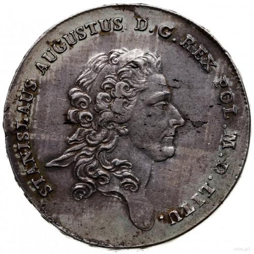 talar 1776, Warszawa; z końcówką napisu LITU; Plage 394...