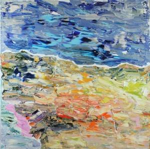 Gossia ZIELASKOWSKA (ur. 1983), Beach map, 2016