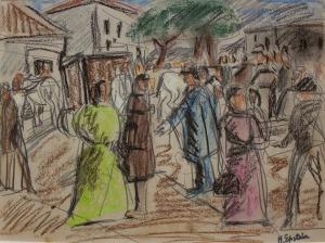 Henryk Epstein (1890-1944), Na rynku