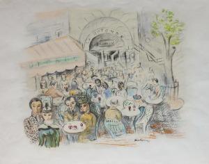 Mojżesz Kisling (1891-1953), Kawiarnia La Rotonde