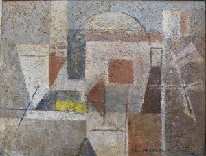 Ewa Maria Łunkiewicz-Rogoyska (1895-1967), Kompozycja kubistyczna
