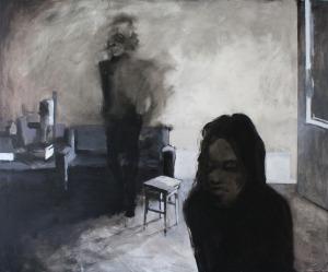 Ewelina Kołakowska, Figury 152, z serii Darkness visible, 2016