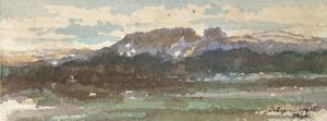 Tadeusz RYBKOWSKI (1848-1926), Pejzaż z Zakopanego, [1906]