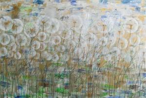 """Mariola Świgulska, Wiosenne przebudzenie z cyklu """"Zauroczona Dmuchawcami"""" (2017)"""