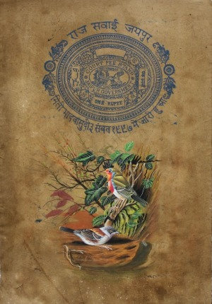 Amit Gupta, Mahendra Handa, Shanti Devi Sharma, Ptasie gniazdo ze stemplem Maharadży Swai Man Singhji {Sałai Man Sing}