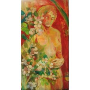 Anna Borcz, Akt z jabłonią