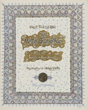 Wacyf BOUTROS-GHALI (1878-1958) Adam STYKA, Les Perles Éparpillées [« Rozsypane perły »]