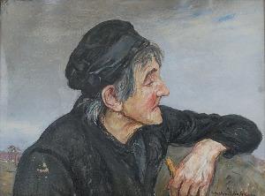 Wlastimil HOFMAN (1881-1970), Melodia grobów, 1921