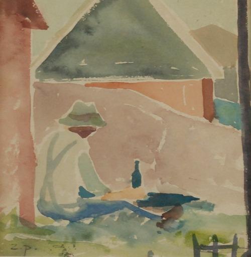 Zbigniew PRONASZKO (1885-1958), Odpoczynek