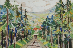 Adam HANYTKIEWICZ (1887-1946), Kolejka górska