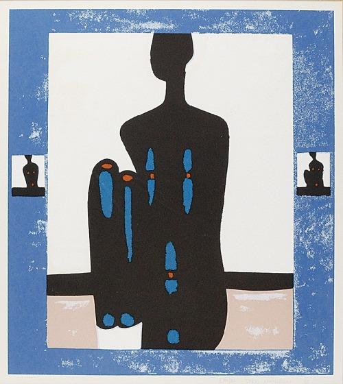 Jerzy NOWOSIELSKI (1923-2011), Akt kobiety, 1995