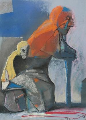 Stasys EIDRIGEVICIUS (ur. 1949), Oczekiwanie, 1992