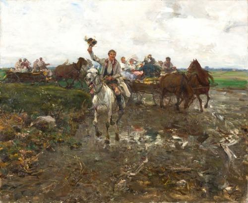 Alfred Wierusz-Kowalski, POLSKI ORSZAK WESELNY, PO 1900