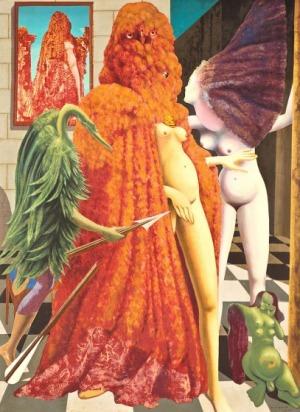 Max Ernst, UBIERANIE POŚLUBIONEJ, 1939