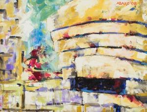 Witold Abako, Muzeum Guggenheima
