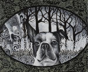 Marta Julia Piórko, Pies i mysz