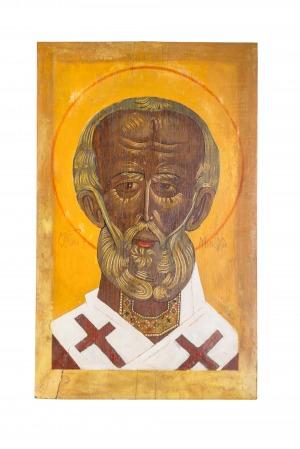 Jerzy Nowosielski (1923-2011) (?), św. Mikołaj