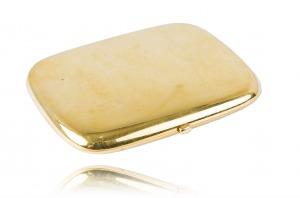 Papierośnica wykonana w złocie 0.583