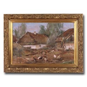 Józef Graczyński, Drób na podwórku