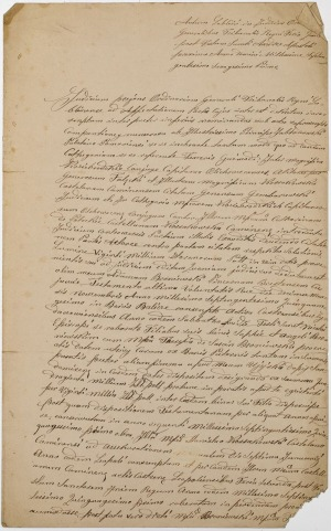 WYROK TRYBUNAŁU KORONNEGO, Lublin 30.11.1761