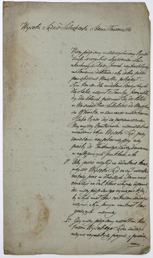 LIST ANTONIEGO WYBRANOWSKIEGO, Ostrówek, 6.12.1822