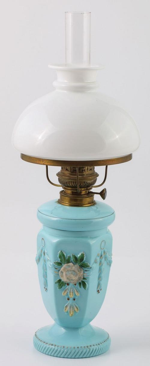 LAMPA NAFTOWA, Francja, Paryż, k. XIX w.
