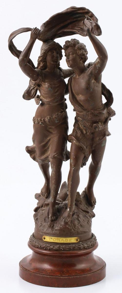UCIECZKA PRZED BURZĄ, Francja, k. XIX w.