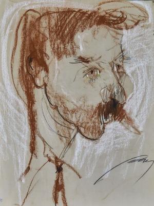 Krzysztof PASZTUŁA, PORTRET MĘSKI