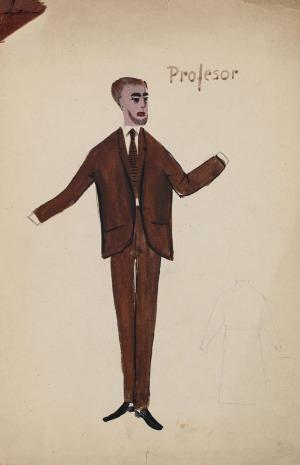 Tadeusz KANTOR, PROFESOR, 1960