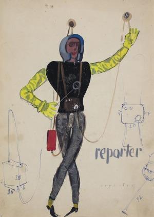 Tadeusz KANTOR, REPORTER, 1960