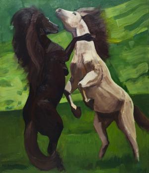Piotr Kieruj (1987), Walczące konie (2015)